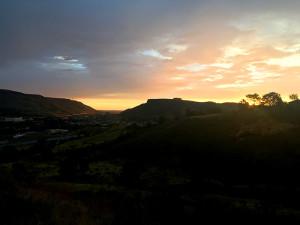 Sunrise above Golden, CO