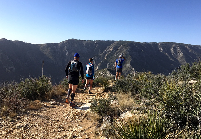 McKittrick Ridge in Guadalupe Mountains National Park